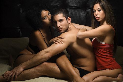 Сексуальные фото женщины и мужчины