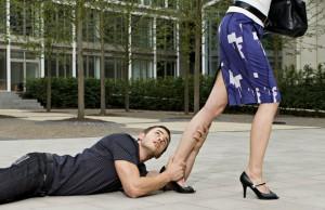 Man-begging-woman