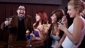 man-women-laugh